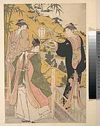 Yoshitsune Serenading Jorurihime