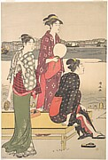 Evening on the Banks of the Sumida River