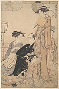 Sashiye (name of a place in Edo)