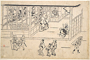 Street scene in the Yoshiwara