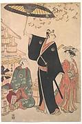 """Ichikawa Yaozo III in the Role of Sukeroku from the Play """"Yukari no Edo-sakura"""", also known as """"Sukeroku"""""""