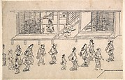 Street Scene in the Yoshiwara
