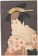 "Iwai Hanshirō IV as Shigenoi in the Play ""Koinyōbō Somewake Tazuna"""
