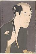 """Onoe Matsusuke I as Matsushita Mikinojō in the Play """"Katakiuchi Noriyaibanashi"""""""