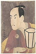 "Bandō Hikosaburō III as Sagisaka Sanai in the Play ""Koinyōbō Somewake Tazuna"""