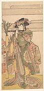 The Third Segawa Kikunojo as a Woman