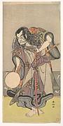 The First Nakamura Nakazo as a Samurai