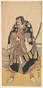 The Actor Ichikawa Danjūrō V as a Warrior Near the Seashore
