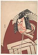 Ichikawa Danjuro V in a Shibaraku Performance