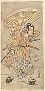 The Second Nakamura Juzo as a Samurai