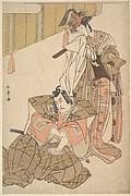 The Third Ichikawa Yaozo and Mimasu Tokujiro