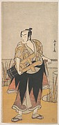The Fourth Matsumoto Koshiro as a Man Standing on the Bank of a River