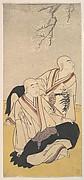 The Third Sawamura Sojuro & the Second Ichikawa Monnosuke as Buddhist Monks