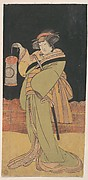 The Second Yamashita Kinsaku as a Woman Standing at Night