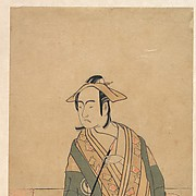 The Third Sawamura Sojūrō in the Role of Soga no Jūrō