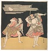 The Actors Otani Tomoemon I and Bando Mitsugoro I