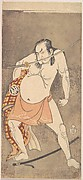 The Second Nakamura Sukegoro as a Man Entirely Nude Save for Loin Cloth
