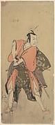The Actor Ichikawa Danjuro V as a Samurai Ready to Fight