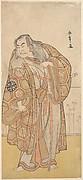 Ikunojo III as Chiyosaki Striking the Chozubachi; a Shower of Gold Coin Flies