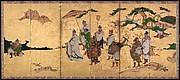 Meeting between Emperor Wen and Fisherman Lü Shang