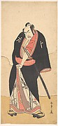 The Second Nakamura Sukegoro in the Role of Kaminari Shokuro