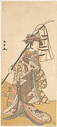 Kabuki Actor Segawa Kikunojō III in a Female Role (Shizuka Gozen)