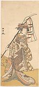 The Third Segawa Kikunojo as a Woman Walking Toward the Left