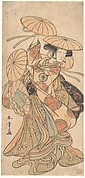 Kabuki Actor Nakamura Tomijūrō I in a Female Dance Role