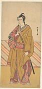The Actor Bando Mitsugorō I as one of the Conen Otoko or Five Kyokaku