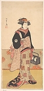The Actor Iwai Hanshiro IV as a Woman in a Black Kimono