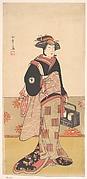 The Actor Iwai Hanshiro IV as a Woman in a Black Kimono