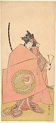 An Unidentified Actor in the Onna (Woman) Shibaraku (Wait-a-Moment) Act