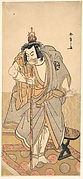 The actor Nakamura Nakazo as a rokuju-rokubu (pilgrim to Buddhist temple)