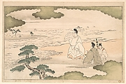 The Exile of Yukihira at Suma