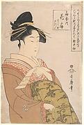 The Courtesan Hanaōgi of the Ōgiya Brothel in Yoshiwara