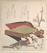 Plum Blossoms and Cake-Box