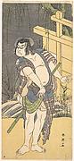 Kabuki Actor Sakata Hangorō III as an Outlaw