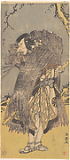 "The Second Nakamura Nakazo in the Role of Sadakuro in ""Chushingura"""