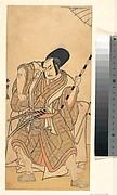 The Actor Nakamura Sukegorō II as a Samurai Disguised as a Shichō or Attendant at a Shinto Shrine