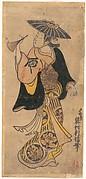 Actor Sanjo Kantaro (1697–1763) as a Woman