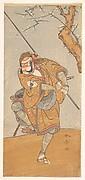 """Onoe Matsusuke in the Role of Asahina in """"Edo no Haru Meisho Soga"""""""