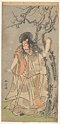 The Fifth Ichikawa Danjuro as a Court Noble (Kuge)