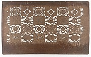 Stencil with Pattern of Filled Squares