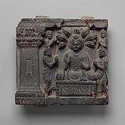 Buddha and Worshippers
