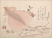 Dried Cuttle-Fish and Plum Blossoms
