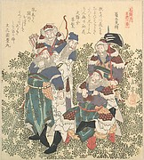 Five Great Soldiers of Shoku