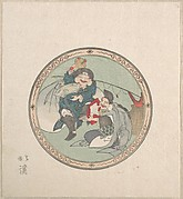 Ebisu and Daikoku; Two of the Seven Gods of Good Fortune