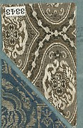 Textile Sample in Sample Book