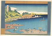 Noboto at Shimōsa (Shimōsa Noboto), from the series One Thousand Pictures of the Sea (Chie no umi)