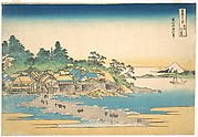 Enoshima in Sagami Province (Sōshū Enoshima), from the series Thirty-six Views of Mount Fuji (Fugaku sanjūrokkei)